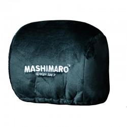 MashiMaro หุ้มหัวเบาะเรซซิ่งสีดำ