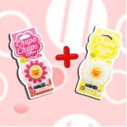 CHUPA CHUPS ซิลิโคนหอมติดช่องแอร์ ดอกไม้ Lime-Lemon + Strawberry Cream