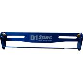 D1 SPEC ขายึดป้ายทะเบียนรถยนต์ แบบปรับองศา สีน้ำเงิน