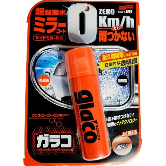 Soft99 น้ำยาเคลือบกระจกกลาโก้ ซีโร่ Glaco Zero (ซื้อ 1 แถม 1)