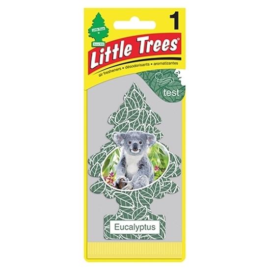 Little Trees แผ่นน้ำหอมปรับอากาศ กลิ่น Eucalyptus